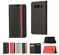 cheap -Retro Fashion Deluxe Leather flip Wallet Stand Case For Galaxy On5/J1 Ace/Grand Max/Grand Prime/J1/J2/J5/J7/E5/E7