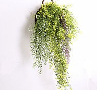 cheap -1 Branch Plastic Plants Wall Flower Artificial Flowers