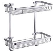 abordables -Estantería de Baño Alta calidad Moderno Aluminio 1 pieza - Baño del hotel