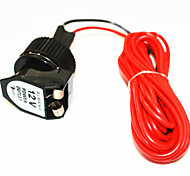 Iztoss Car Motorbike Boat Cigarette Lighter Power Outlet Waterproof 12V 120W