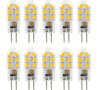 ywxlight® 2.5w g4 led luces bi-pin 14 smd 2835 250 lm blanco cálido blanco frío decorativo ac 220-240 dc 12 v 10pcs