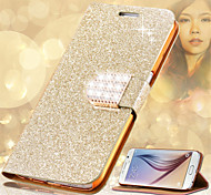 Fashion Women Crystal Diamond Flip Leather Phone Cover For Samsung Galaxy Note 3/Note 4/Note 5