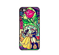 Cartoon couple Design Aluminum Hard Case for iPhone 5/5S iPhone Cases