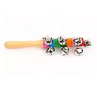 Недорогие -деревянные красочные колокола игрушки музыкальные инструменты музыкальные игрушки для детей