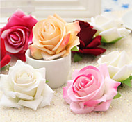 cheap -Artificial Flowers 1 Branch Pastoral Style Roses Tabletop Flower