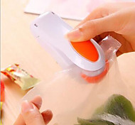 cheap -Magnetic Mini Handheld Food Bag Resealer Plastic Bag Heat Sealer Random Color