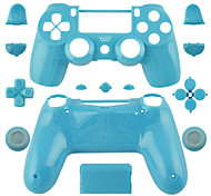Replacement Controller Case for PS4 Controller PS4 Case (Yellow/Blue/Green)