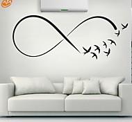 Животные / Романтика / Мода / Геометрия / абстракция Наклейки Простые наклейки,PVC S:23*61cm/ M:31*84cm / L:45*117cm