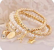 cheap -Rhinestone Cute Others 1set Bangles - Charm Unique Design Vintage Gold Bracelet For Party Gift Valentine