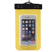 Недорогие -Сухие боксы Водонепроницаемые сумки Сотовый телефон Защита от влаги Подводное плавание и снорклинг PVCЧерный Желтый Зеленый Синий
