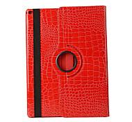 360 Degree Crocodile Pattern PU Leather Flip Cover Case for iPad Mini 4 (Assorted Colors)
