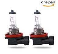 2 pcs GMY 55W 1350±15%lm 3000K Halogen Car Light H11 12V Clear