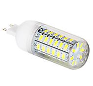 5W G9 Bombillas LED de Mazorca T 56 leds SMD 5730 Blanco Natural 450lm 6000-6500K AC 100-240V