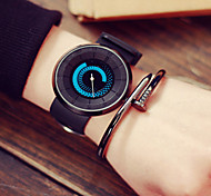 Women's Watches,Fashion Rotating Watches,Led Lights Watch,Silica Gel Watch,Quartz Watch,Students Watch,Gift Idea Cool Watches Unique Watches