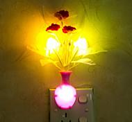 прекрасная ваза с изменением цвета умный свет управляемый аварийный водить ночи свет для детской комнаты домашнего украшения (случайный