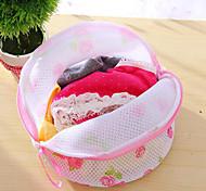 стиральная бюстгальтер мешок для стирки белья белье спасатель мыть сетки корзины помощи чистой новой случайный цвет