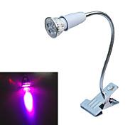 abordables -5W E26/E27 Lampes Horticoles LED 5 COB lm Rouge / Bleu AC 85-265 V 1 pièce