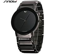 SINOBI® Vintage Men's Watches Top Luxury Brand Classic Museum Fashion Quartz Watch Best Quality Wrist Watch With Watch Box Cool Watch Unique Watch