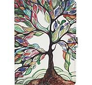 Недорогие -Для Кейс для  Samsung Galaxy Кошелек / Бумажник для карт / со стендом / Флип / С узором Кейс для Чехол Кейс для дерево Искусственная кожа