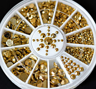 cheap -1PC Rhinestones Nail Jewelry Classic Punk Daily Classic Punk High Quality