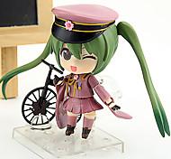 economico -Figure Anime Azione Ispirato da Vocaloid Hatsune Miku 10 CM Giocattoli di modello Bambola giocattolo