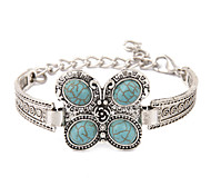 cheap -Men's Women's Turquoise Others Butterfly Vintage Bracelet - Unique Design Birthstones Fashion Animal Bracelet For Wedding Party Daily