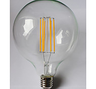 8W E26/E27 LED Filament Bulbs G125 8 COB 980 lm Warm White Amber 2700 K Waterproof Decorative AC 85-265 V