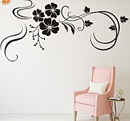 cheap -Romance Fashion Florals Wall Stickers Plane Wall Stickers Decorative Wall Stickers, Vinyl Home Decoration Wall Decal Wall Decoration