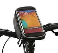 ROSWHEEL Bike Handlebar Bag Cell Phone Bag 4.2 inch Waterproof Quick Dry Rain-Proof Touch Screen Cycling for Iphone 5/5S Iphone 5 C Other