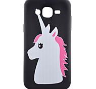 пони шаблон ТПУ телефон случае для Samsung Galaxy j1 / Galaxy J5 / g5308 / g360