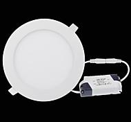 cheap -LED Panel Lights 2835 SMD 2835 500-550lm Warm White Cold White Natural White 2800-6500K Decorative AC 85-265V