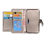 Multi-function Wallet Case For LG G5/G4/G3/Nexus 5X/K10/K7/Magna/G3 MINI/AKA PU Leather Flip Cover With Card Slots