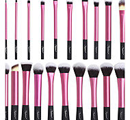 cheap -20 Makeup Brush Set Synthetic Hair Nylon High Quality Eye Face Lipstick EyeShadow Blush Lip Daily High Quality Middle Brush Classic Small