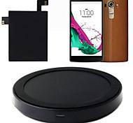 типа C ци беспроводное зарядное устройство зарядки коврик коврик + наклейка приемник с НФК для LG g4