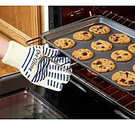 Недорогие -Ове перчатки для тяжелых условий эксплуатации печи перчатки можно стирать силиконовые скользят