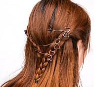 Women Casual Handmade Bow Hair Clips Alloy Hair Accessories 1pc