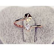 cheap -Women's Alloy Ring - Fashion Gold / Pink Ring For Wedding / Party / Daily