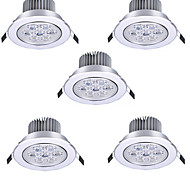 cheap -5pcs 7 W 600 lm LED Spotlight / LED Globe Bulbs 7 LED Beads High Power LED Decorative Warm White / Cold White 85-265 V / RoHS / 90