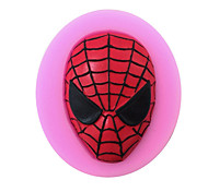 cheap -Spider people Shaped Silicone Fondant Cake Cake Chocolate Silicone Molds,Decoration Tools Bakeware