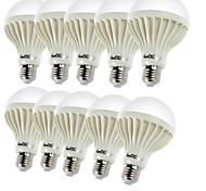 E26/E27 Lampadine globo LED B 9 leds SMD 5630 Decorativo Bianco caldo 450lm 3000K AC 220-240V
