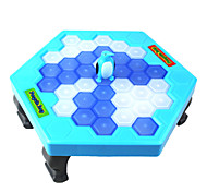 Puzzle Table Games Balance Ice Cubes Save Penguin Icebreaker Beating Save Penguin Knock Ice Block Wall Toys Interactive Desktop Party paternity Games