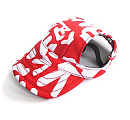 cheap -Cat Dog Bandanas & Hats Dog Clothes Holiday Casual/Daily Color Block Black Red Costume For Pets