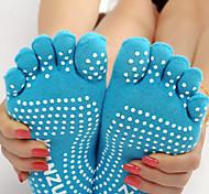 Outdoor Women's Socks Yoga Anti-skidding / Sweat-wicking Spring / Autumn / Winter Free Size(Random Colors)