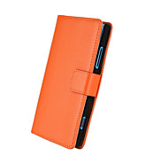 For Nokia Case Wallet / Card Holder / with Stand Case Full Body Case Solid Color Hard PU Leather Nokia Lumia 920