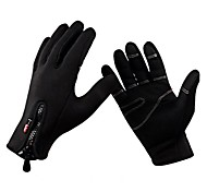 cheap -Cycling Gloves Full Finger Warm Soft Keep Warm Full Finger Bike Bicycle Mittens Windproof Thermal Winter Sports Gloves