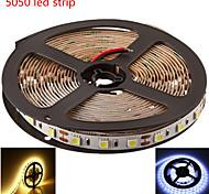 5M SMD5050 300LED Warm/Cool White Color LED Strip Light(DC12V)