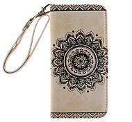 For iPhone 7 7 Plus 6s 6 Plus SE 5s 5 Case Mandolin Exotic Flowers Around Open Holster