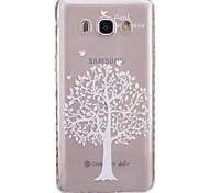 For Samsung Galaxy Case Transparent Case Back Cover Case Tree Soft TPUJ7 / J5 (2016) / J5 / J3 / J2 / J1 (2016) / J1 Ace / J1 / Grand