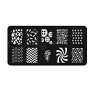 cheap -Nail Stamping Tool Nail Stamping Template Nail Art Design Daily Chic & Modern Fashion High Quality