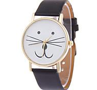 Kitty Watch Women Watches Cat Watch Wrist Watch Leather Watch Vintage Watch Jewelry Accessories Cool Watches Unique Watches Fashion Watch